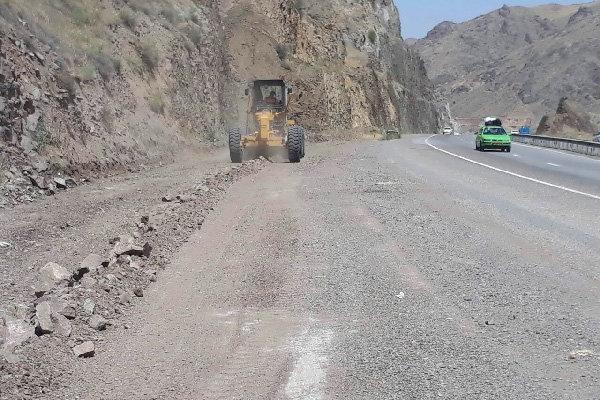 شانه سازی 222 کیلومتر از راه های استان همدان